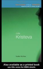 Julia Kristeva by