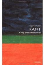 Kant: A Very Short Introduction by Roger Scruton