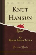 Knut Hamsun by