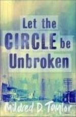 Let the Circle Be Unbroken by Mildred Taylor