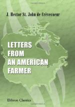 Letters from an American Farmer by Jean de Crèvecoeur