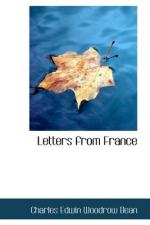 Letters from France by Charles Bean