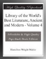 Library of the World's Best Literature, Ancient and Modern — Volume 4 by