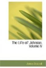 Life of Johnson, Volume 4 by James Boswell