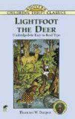 Lightfoot the Deer by Thornton Burgess