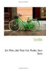 Lycidas by