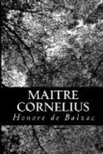 Maitre Cornelius by Honoré de Balzac
