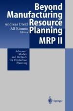 Manufacturing resource planning by