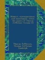 Memoir, Correspondence, And Miscellanies, From The Papers Of Thomas Jefferson, Volume 3 by Thomas Jefferson
