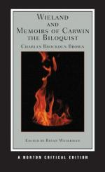 Wieland; and Memoirs of Carwin the Biloquist by Charles Brockden Brown