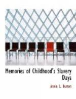 Memories of Childhood's Slavery Days by