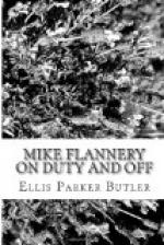 Mike Flannery On Duty and Off by Ellis Parker Butler