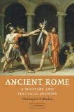 Military history of ancient Rome by
