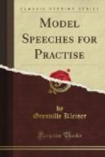 Model Speeches for Practise by