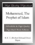 Mohammed, The Prophet of Islam by