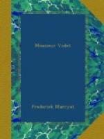 Monsieur Violet by Frederick Marryat