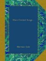More Cricket Songs by Norman Gale