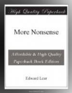 More Nonsense by Edward Lear