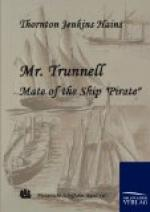 "Mr. Trunnell, Mate of the Ship ""Pirate"" by"