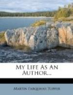 My Life as an Author by Martin Farquhar Tupper