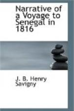 Narrative of a Voyage to Senegal in 1816 by