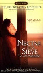 Nectar in a Sieve by Kamala Purnaiya Taylor