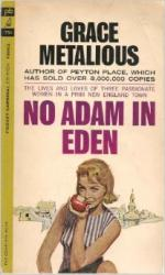No Adam in Eden by Grace Metalious