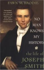 No Man Knows My History: The Life of Joseph Smith by Fawn M. Brodie