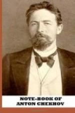 Note-Book of Anton Chekhov by Anton Chekhov