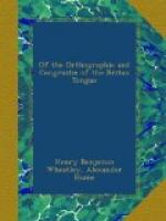 Of the Orthographie and Congruitie of the Britan Tongue by Alexander Hume