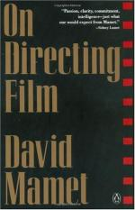 On Directing Film by David Mamet