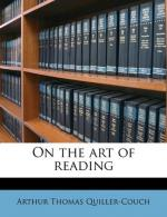 On The Art of Reading by Arthur Quiller-Couch