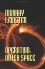 Operation: Outer Space by Murray Leinster