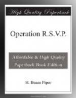 Operation R.S.V.P. by H. Beam Piper
