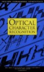 Optical character recognition by
