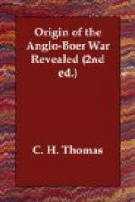Origin of the Anglo-Boer War Revealed (2nd ed.) by
