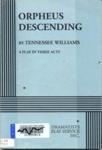 Orpheus Descending by Tennessee Williams