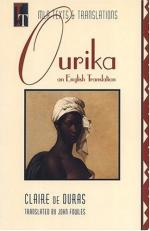 Ourika: An English Translation by Claire de Duras