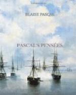 Pascal's Pensées by Blaise Pascal