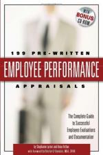 Performance appraisal by