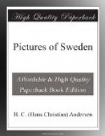 Pictures of Sweden by Hans Christian Andersen