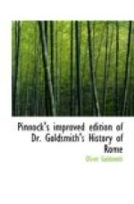 Pinnock's improved edition of Dr. Goldsmith's History of Rome by Oliver Goldsmith