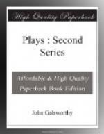 Plays : Second Series by John Galsworthy