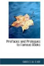 Prefaces and Prologues to Famous Books by