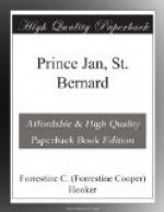 Prince Jan, St. Bernard by