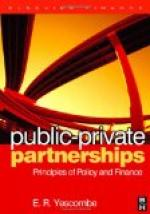Public-private partnership by