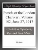 Punch, or the London Charivari, Volume 152, June 27, 1917 by