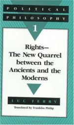 Quarrel of the Ancients and the Moderns by