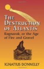 Ragnarok : the Age of Fire and Gravel by Ignatius Donnelly