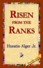 Risen from the Ranks by Horatio Alger, Jr.